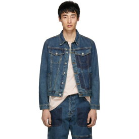 J.W.アンダーソン JW Anderson メンズ アウター ジャケット【Blue Denim Shaded Pocket Jacket】