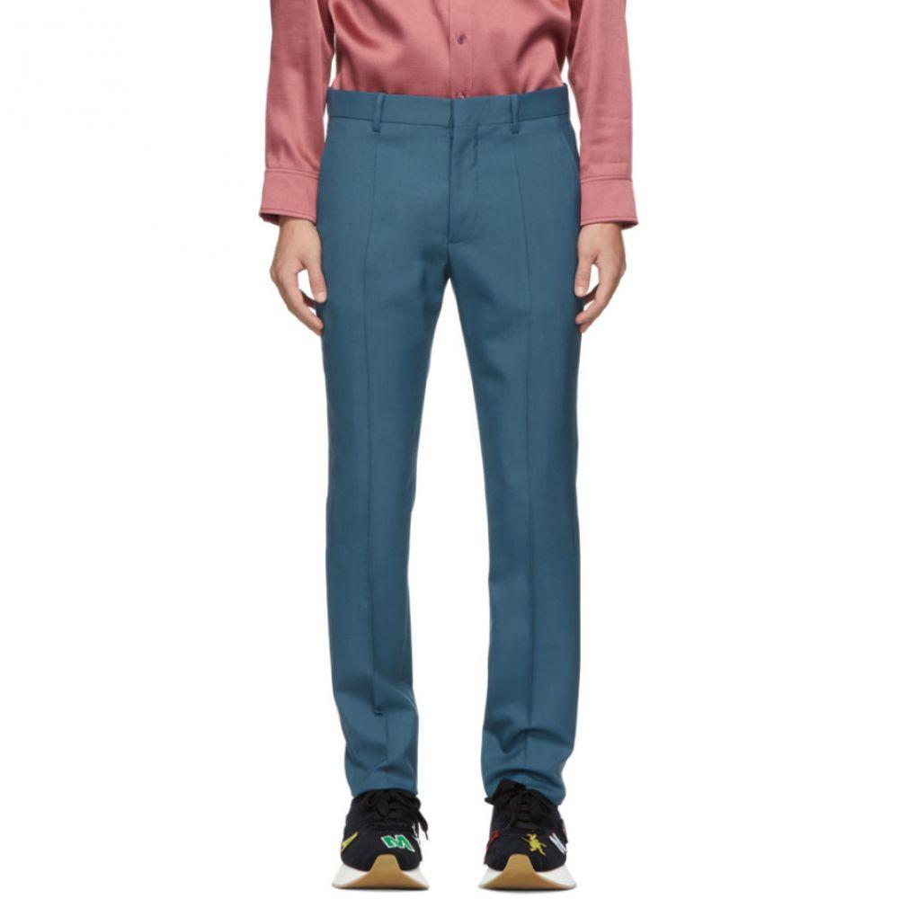 マルニ Marni メンズ ボトムス・パンツ スラックス【Blue Tropical Wool Trousers】