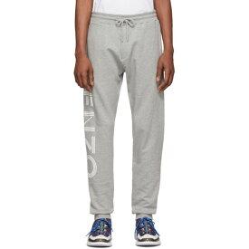 ケンゾー Kenzo メンズ ボトムス・パンツ スウェット・ジャージ【Grey Logo Lounge Pants】