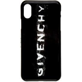edf35fa211 ジバンシー Givenchy レディース iPhone (X)ケース【Black Logo iPhone XS/X Case