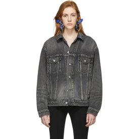 バレンシアガ Balenciaga レディース アウター ジャケット【Grey Denim Logo Jacket】