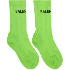 バレンシアガ Balenciaga レディース インナー・下着 ソックス【Green Tennis Socks】