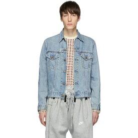 ブレス Bless メンズ アウター ジャケット【Blue Maryam Nassir Zadeh Edition Denim Jeansjacket Jacket】
