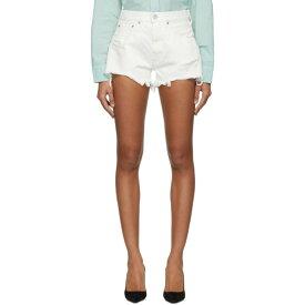 マウジー Moussy Vintage レディース ボトムス・パンツ ショートパンツ【White Denim Montclair Shorts】