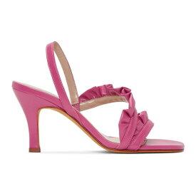 マリアム ナッシアー ザデー Maryam Nassir Zadeh レディース シューズ・靴 サンダル・ミュール【Pink Estrella Sandals】