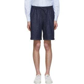 メゾン キツネ Maison Kitsun? メンズ ボトムス・パンツ ショートパンツ【Navy Denim Shorts】