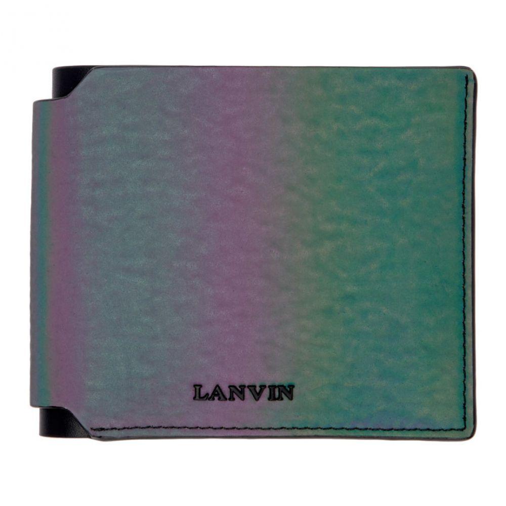 ランバン Lanvin メンズ 財布【Multicolor Iridescent Wallet】