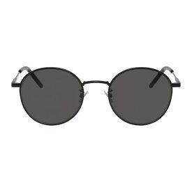 イヴ サンローラン Saint Laurent メンズ メガネ・サングラス【Black Classic SL 250 Sunglasses】