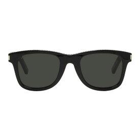 イヴ サンローラン Saint Laurent メンズ メガネ・サングラス【Black Classic SL51 Studs Sunglasses】