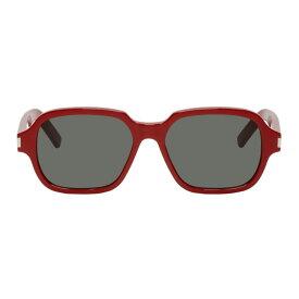 イヴ サンローラン Saint Laurent メンズ メガネ・サングラス【Red SL 292 Sunglasses】