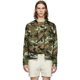 ヴァレンティノ Valentino メンズ アウター ジャケット【Green Art Camo Jacket】