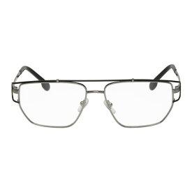 ヴェルサーチ Versace メンズ メガネ・サングラス【Gunmetal Greek Wire Glasses】