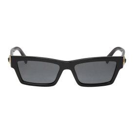 ヴェルサーチ Versace メンズ メガネ・サングラス【Black Medusa Rectangular Sunglasses】