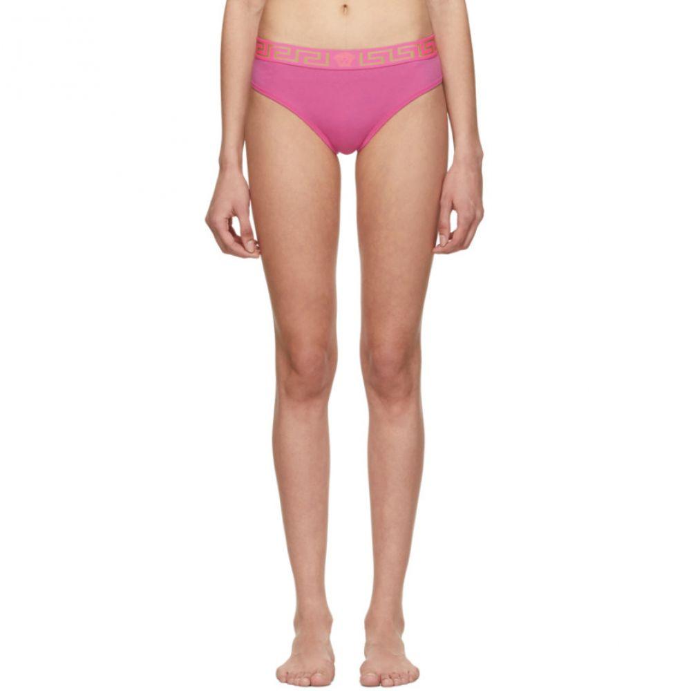 ヴェルサーチ Versace Underwear レディース インナー・下着 ショーツのみ【Pink Medusa Briefs】