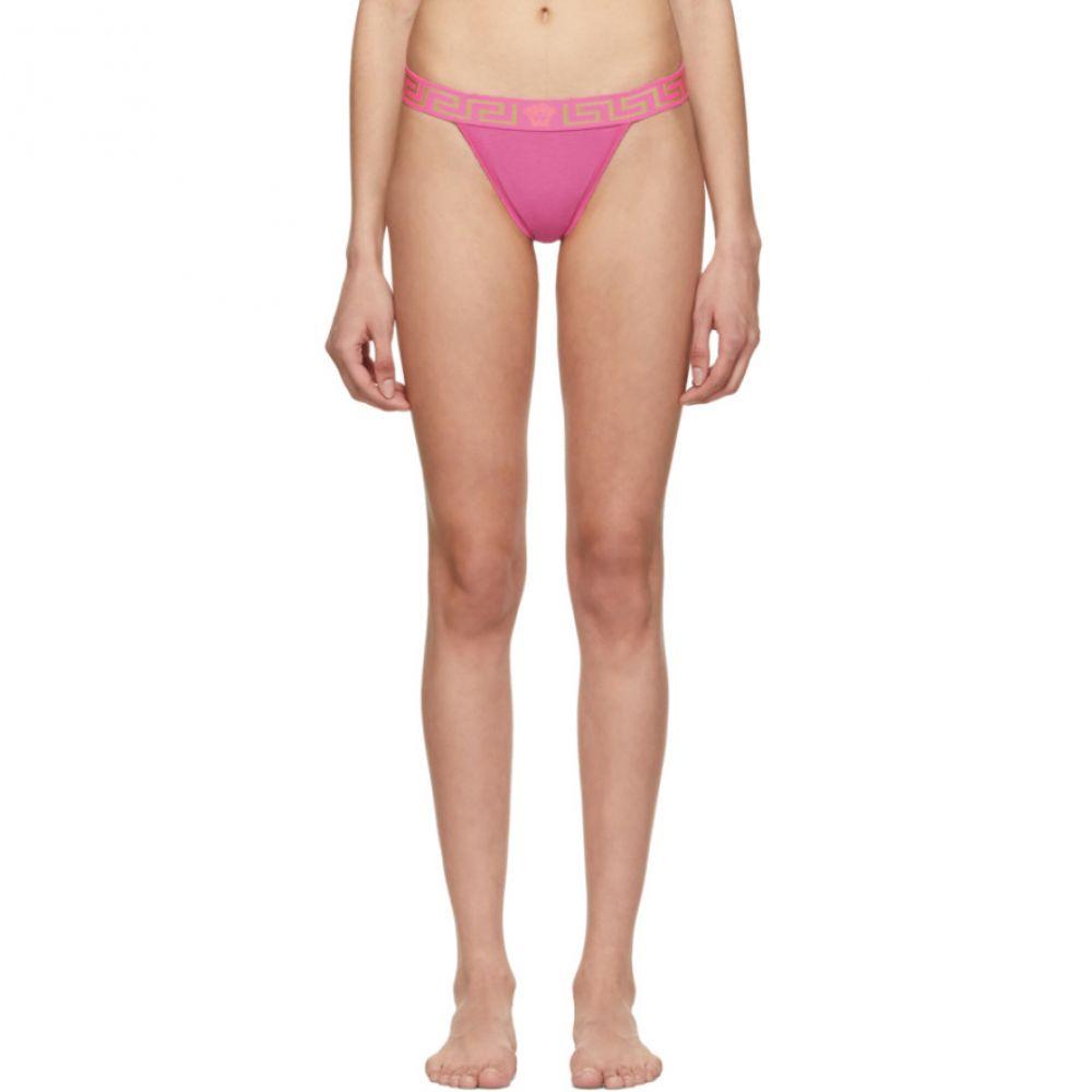 ヴェルサーチ Versace Underwear レディース インナー・下着 ショーツのみ【Pink Medusa Thong】