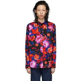 エムエスジーエム MSGM メンズ トップス シャツ【Black Floral Print Shirt】