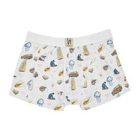 ヌーディージーンズ Nudie Jeans メンズ インナー・下着 ボクサーパンツ【White West Coast Remix Boxer Briefs】