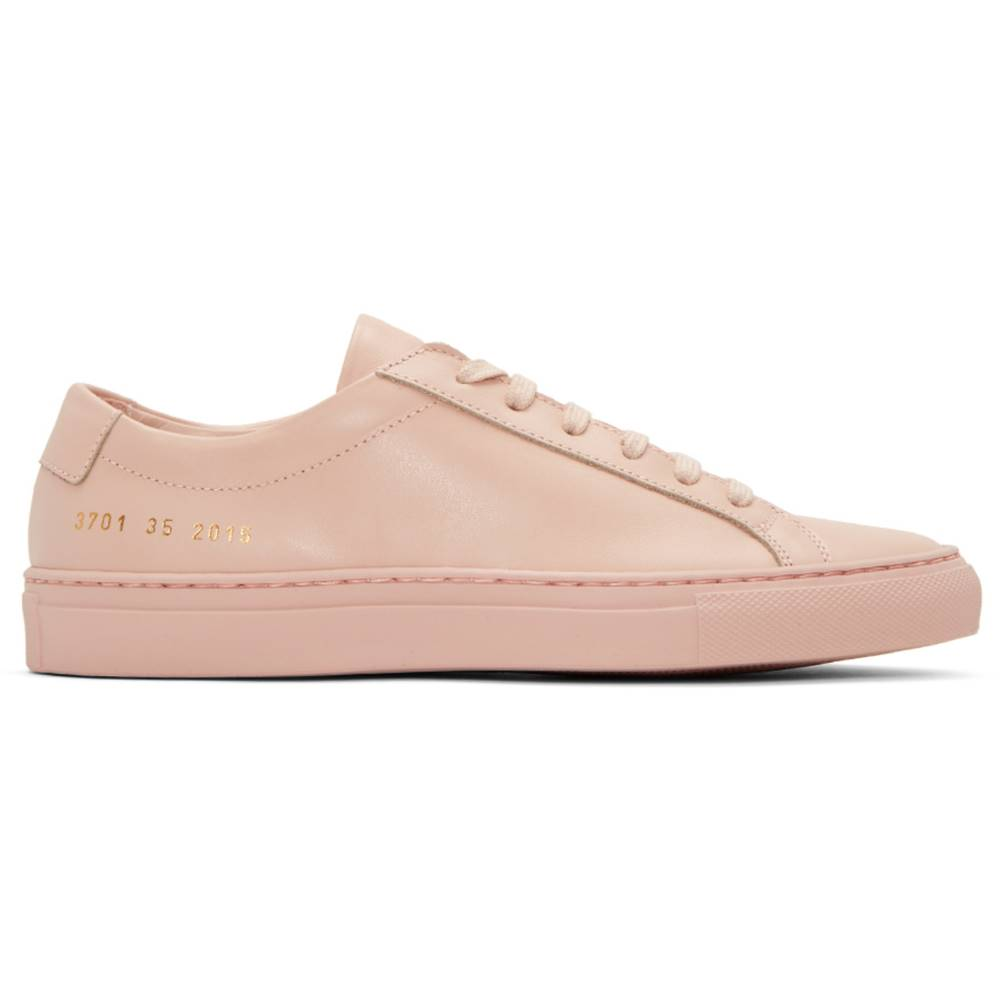 コモン プロジェクト レディース シューズ・靴 スニーカー【Pink Original Achilles Low Sneakers】