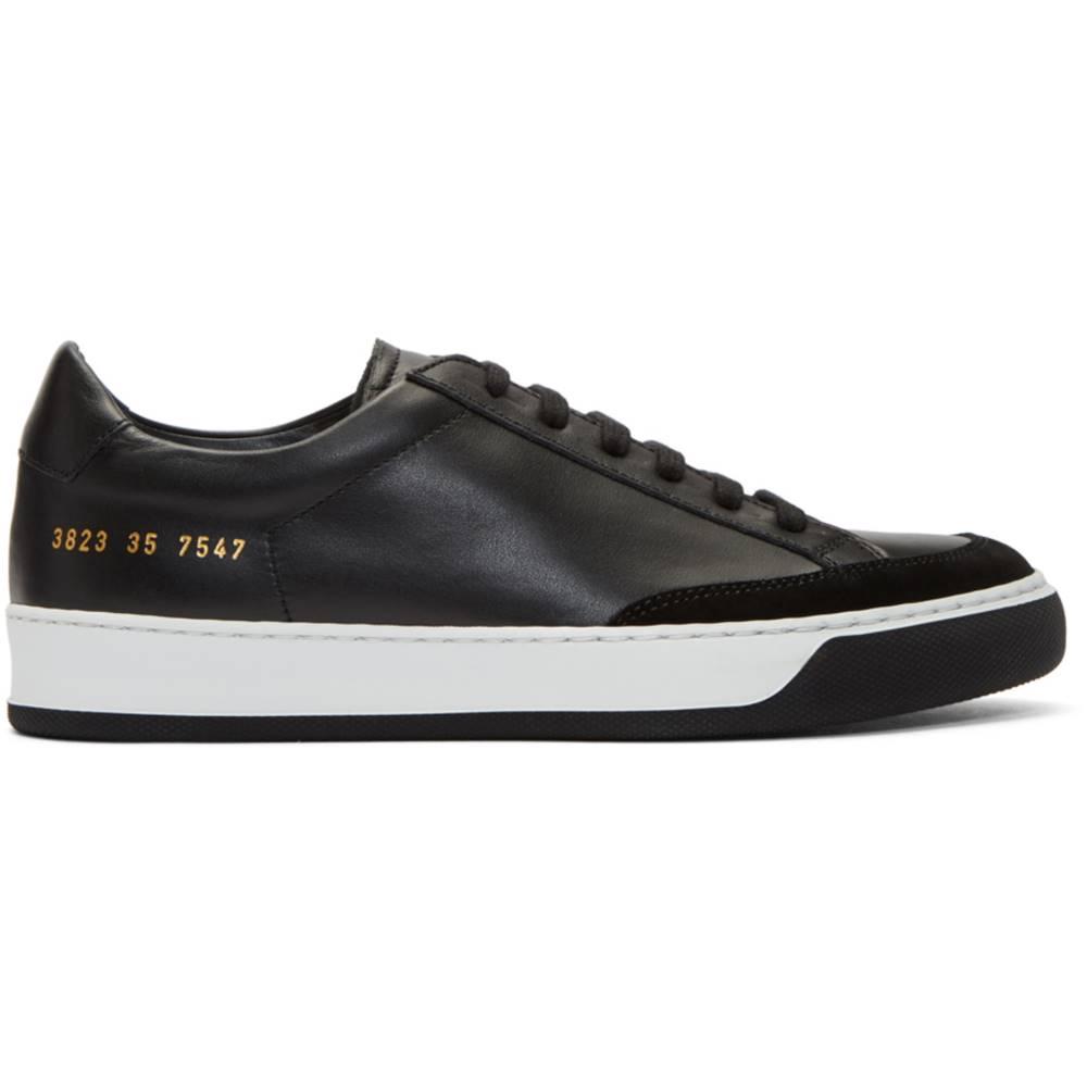 コモン プロジェクト レディース シューズ・靴 スニーカー【Black Tennis Pro Sneakers】