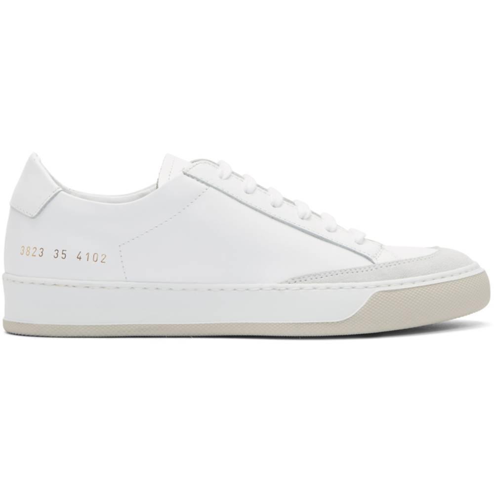 コモン プロジェクト レディース シューズ・靴 スニーカー【White Tennis Pro Sneakers】