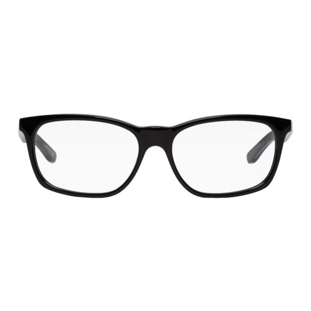 バレンシアガ Balenciaga メンズ メガネ・サングラス【Black Shiny Square Glasses】