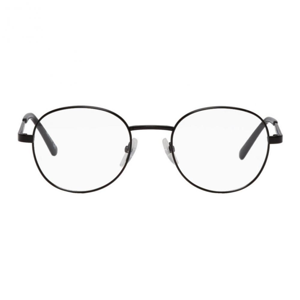 バレンシアガ Balenciaga メンズ メガネ・サングラス【Black Semi-Matte Glasses】
