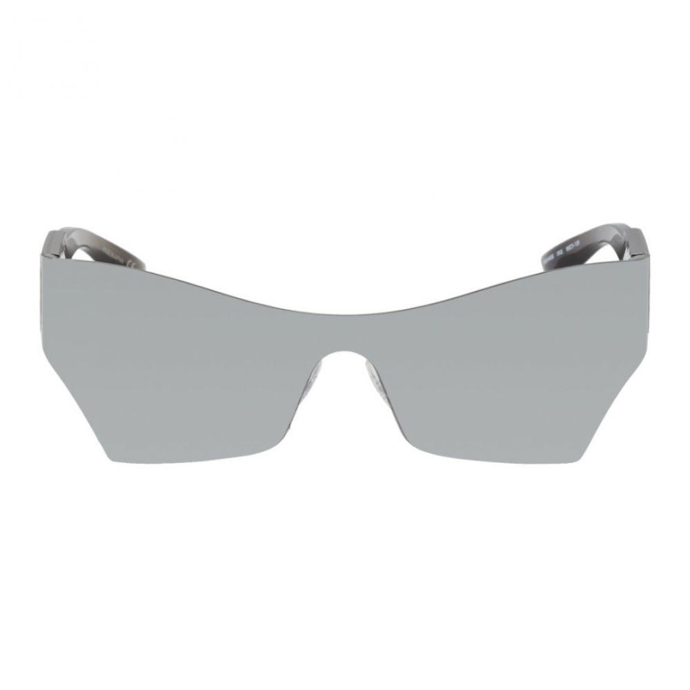 バレンシアガ Balenciaga メンズ メガネ・サングラス【Silver Mono Cat Sunglasses】