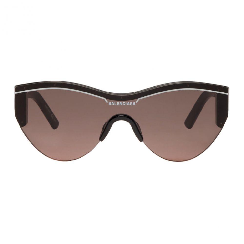 バレンシアガ Balenciaga レディース メガネ・サングラス【Black Cat Ski Sunglasses】