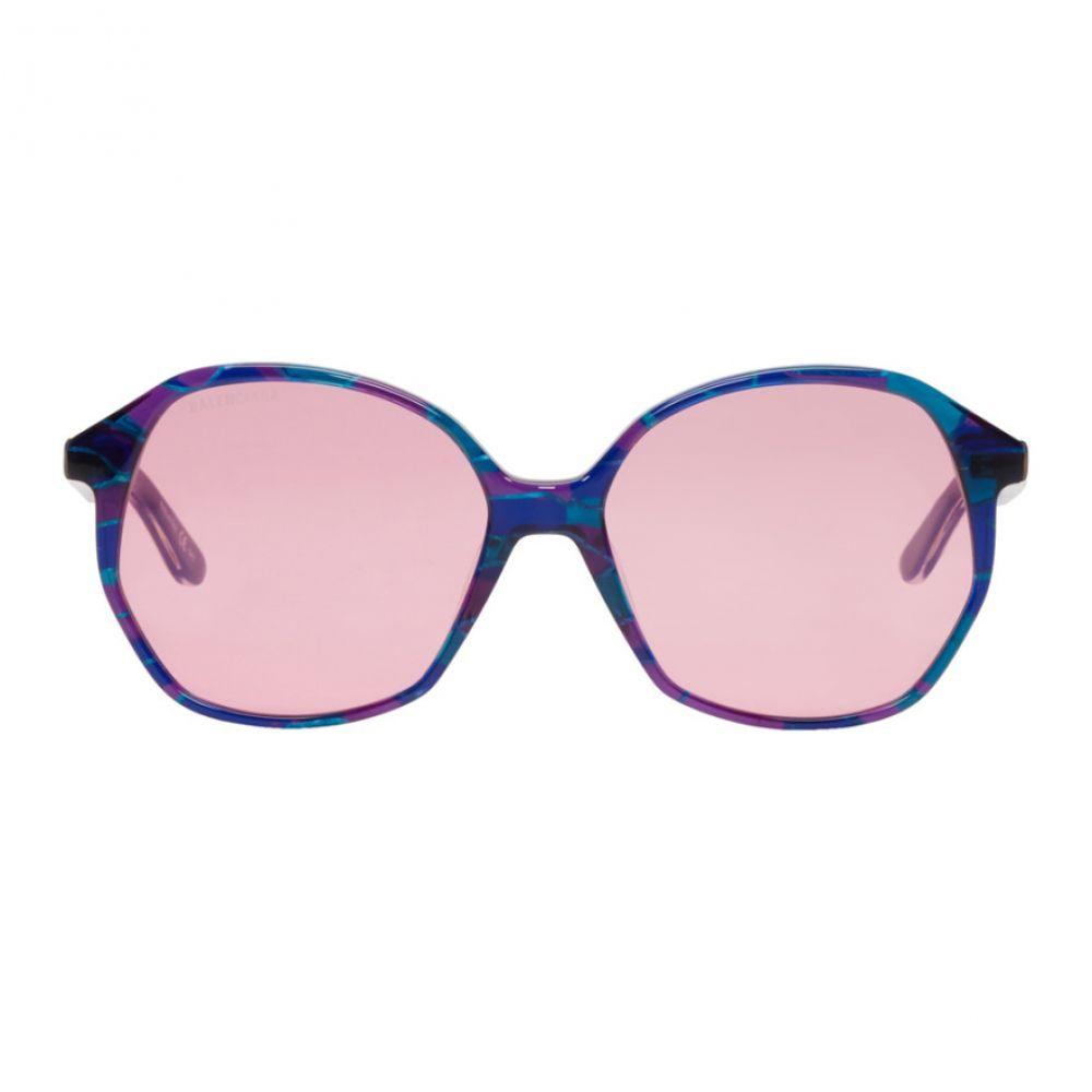 バレンシアガ Balenciaga レディース メガネ・サングラス【Multicolor Butterfly Shape Sunglasses】