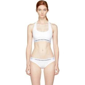 カルバンクライン Calvin Klein 205W39NYC レディース インナー・下着 ブラレット【White Logo Bralette】