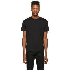 サンスペル Sunspel メンズ トップス Tシャツ【Black Riviera T-Shirt】