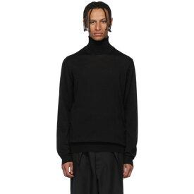 ランバン Lanvin メンズ トップス ニット・セーター【Black Wool Turtleneck】