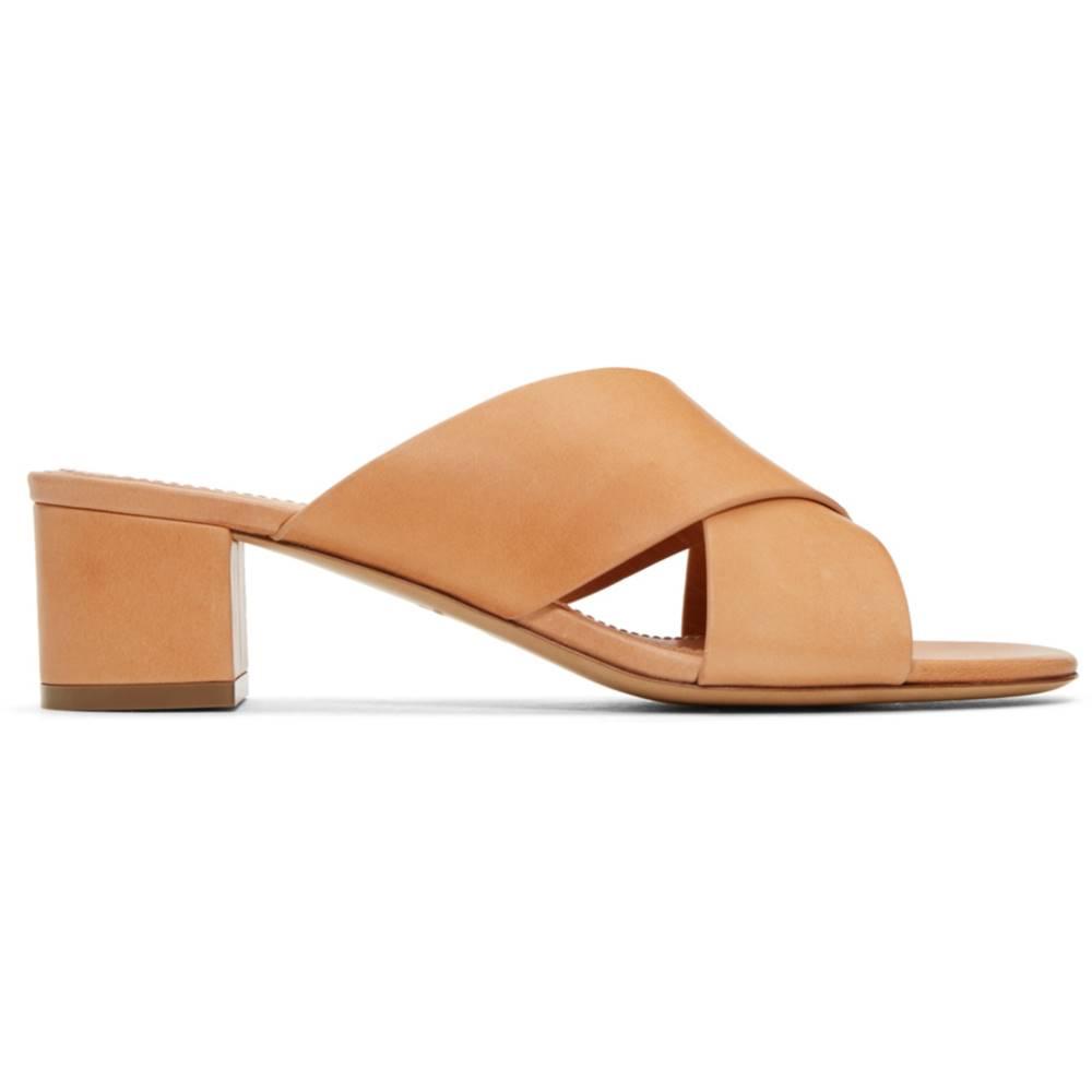 マンサーガブリエル レディース シューズ・靴 サンダル・ミュール【Tan Crossover Sandals】