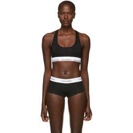 カルバンクライン Calvin Klein Underwear レディース インナー・下着 ブラレット【Black Modern Cotton Bralette】