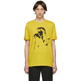 ニール バレット Neil Barrett メンズ トップス Tシャツ【Yellow Rocker T-Shirt】Yellow