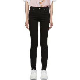 ヴェルサーチ Versace Jeans Couture レディース ボトムス・パンツ ジーンズ・デニム【Black Skinny Jeans】Black