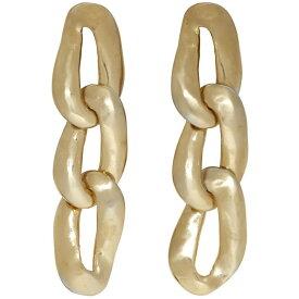 マルニ Marni レディース ジュエリー・アクセサリー イヤリング・ピアス【Gold Chain-Link Earrings】Palladium