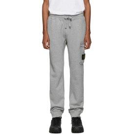 ストーンアイランド Stone Island メンズ ボトムス・パンツ スウェット・ジャージ【Grey Logo Lounge Pants】Polvere melange