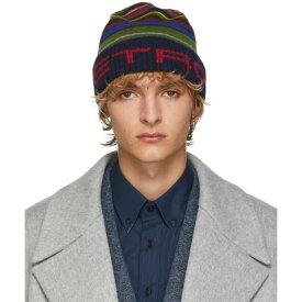 エトロ Etro メンズ 帽子【Multicolor Berreto Tricot Hat】Multicolor