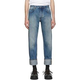 ロエベ Loewe メンズ ボトムス・パンツ ジーンズ・デニム【Blue 5 Pocket Jeans】Washed
