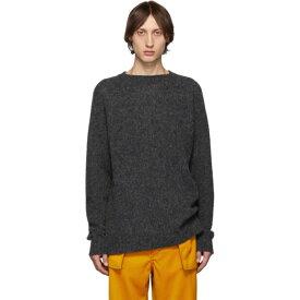ロエベ Loewe メンズ トップス ニット・セーター【Grey Wool Melange Sweater】Grey