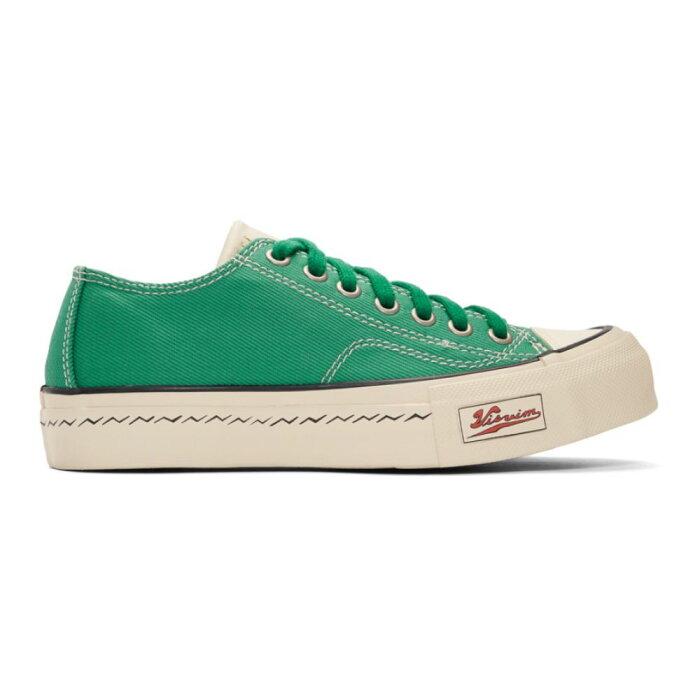ビズビム Visvim レディース シューズ・靴 スニーカー【Green Skagway Lo Patten Sneakers】Green