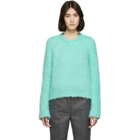 メゾン マルジェラ Maison Margiela レディース トップス ニット・セーター【Blue Handmade Boucle Sweater】Turquoise