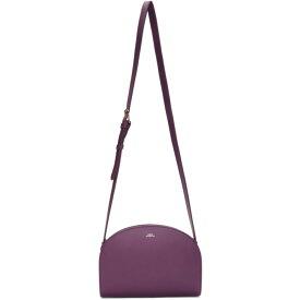 アーペーセー A.P.C. レディース バッグ【Purple Half-Moon Bag】Fuchsia