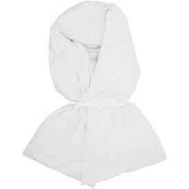 メゾン マルジェラ MM6 Maison Margiela レディース マフラー・スカーフ・ストール【White Down Wrap Scarf】