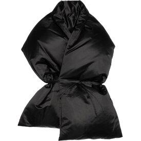 メゾン マルジェラ MM6 Maison Margiela レディース マフラー・スカーフ・ストール【Black Oversized Puffer Scarf】Black