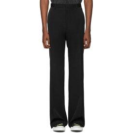 ランバン Lanvin メンズ ボトムス・パンツ スラックス【Black Wool Wide Trousers】Black