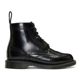ドクターマーチン Dr. Martens レディース シューズ・靴 ブーツ【Black Delphine Boots】Black