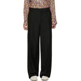 ロエベ Loewe メンズ ボトムス・パンツ【Black Pleated Trousers】Black