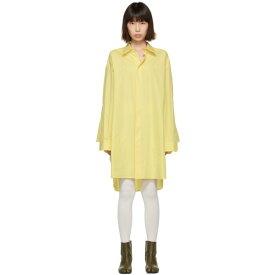 メゾン マルジェラ Maison Margiela レディース ワンピース・ドレス ワンピース【Yellow Oversized Shirt Dress】Yellow